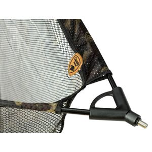 Giants fishing podberáková hlava carp net head camo-105x105 cm