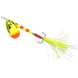 Spro blyskáč supercharged weighted spinners yellow - 16 cm 14 g