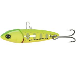 Savage gear blyskáč switch blade minnow green silver ayu-5 cm 11 g
