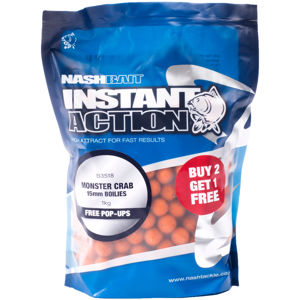 Nash boilies stabilised key cray-5 kg 15 mm
