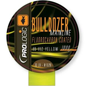 PROLOGIC Bulldozer FC Coated Mono Fluo Yellow  1000m 12lbs 0,31mm