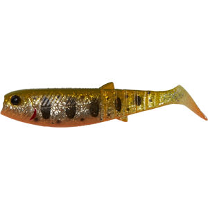 Savage gear gumová nástraha cannibal paddletail olive smolt uv - 6,8 cm 3 g