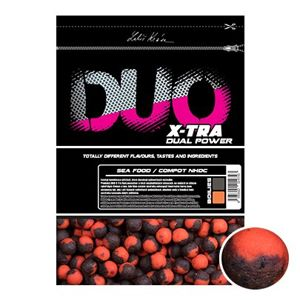 LK Baits DUO X-Tra Boilies Sea Food/Compot NHDC 30mm, 1kg