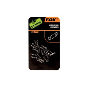 Fox Edges Micro Ring Swivels x20
