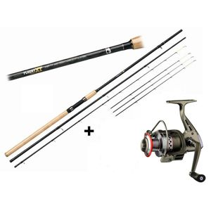 Giants fishing prút fluent feeder xt medium 3,3 m 100 g + navijak zdarma!