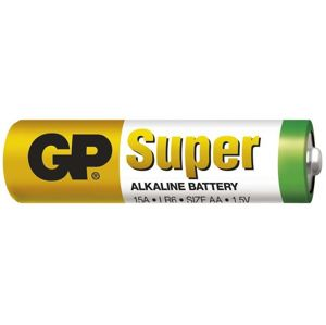 Gp batteries alkalická bateria gp super lr6 (aa) 1 ks