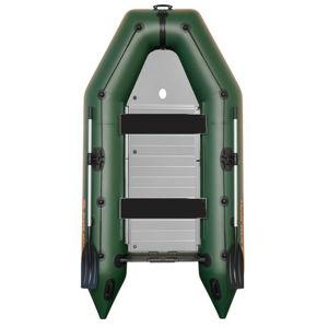Kolibri čln km-360 d zelený hliníková podlaha