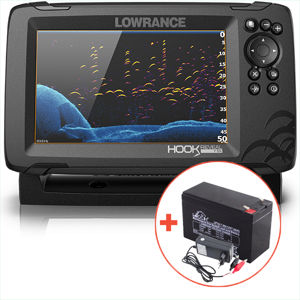 Lowrance echolot hook reveal 7 so sondou tripleshot