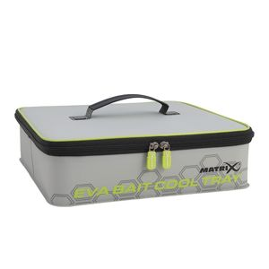 Matrix puzdro na nástrahy eva bait cooler tray light grey inc 4 tubs