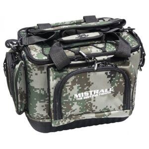 Mistrall rybárska taška s pevným dnom a vreckami 48x30x26 cm