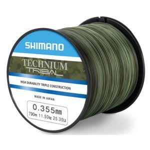 Shimano vlasec technium tribal pb camou-priemer 0,285 mm / nosnosť 7,50 kg / návin 1250 m