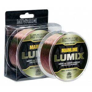 Mivardi vlasec lumix mainline camo 600 m-priemer 0,285 mm / nosnosť 8,65 kg