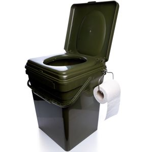 Ridgemonkey toaletné sedátko cozee + kýbel modular bucket 30l - celý set