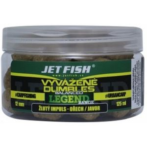 Jet fish vyvážené dumbles legend range 125 ml 12 mm - robin red brusnica