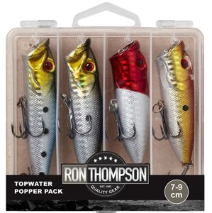 Ron thompson sada woblerov topwater popper pack 7-9 cm