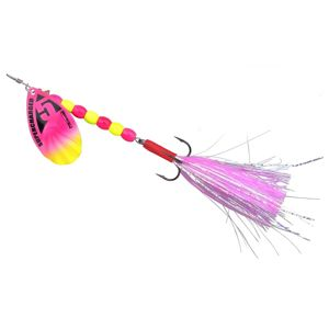 Spro blyskáč supercharged weighted spinners cotton candy - 18 cm 19 g