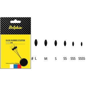 Delphin stopper rubber olive-ss