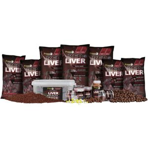 Starbaits pelety red liver mixed 2 kg