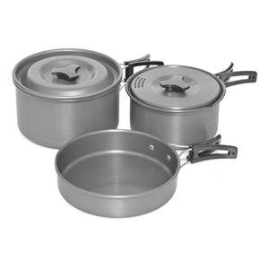 Trakker sada riadov armolife cookware set  3 piece