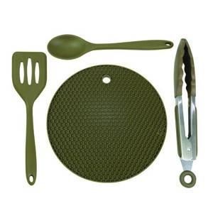 Trakker silikonový kuchynský riad armolife silicone utensil set