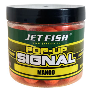 Jet fish plovoucí boilie pop up signal mango - 16 mm